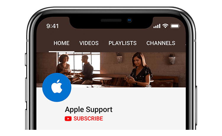 Apple YouTube Channel
